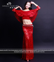 Clothes Exercise Clothes 2017 New Autumn And Winter Suits Costumes Lace Oriental Dance Dance Clothes