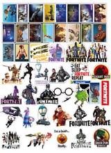 45 Pieces Vinyl Games Stickers Set