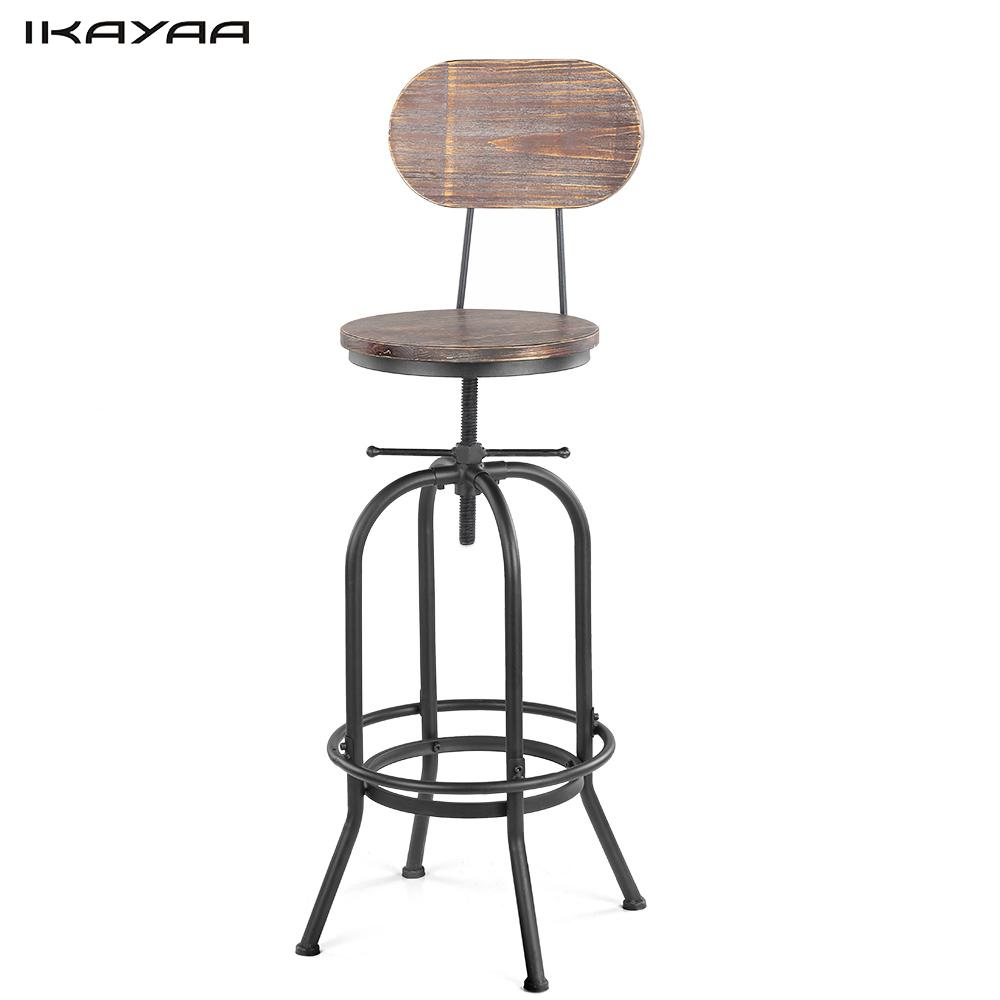 Industrial Chairs Quality Metal Bar Stool High Stool Bar Chair Front Desk Bar Chair Warm And Windproof Bar Furniture Furniture