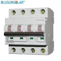 10 шт./лот 4 P 1000 В DC выключателя MCB DC 1000 В DC Swtich изолятор 32A 63A