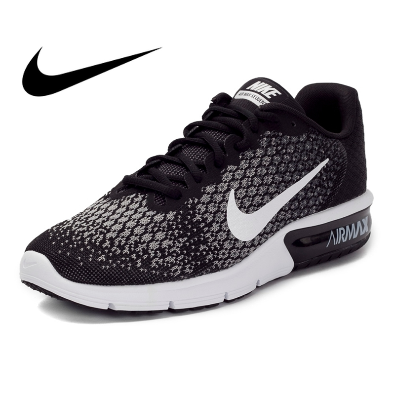 Original authentique NIKE AIR MAX SEQUENT 2 chaussures de course pour hommes chaussures de sport en plein AIR jogging confortable et durable 852461-005Original authentique NIKE AIR MAX SEQUENT 2 chaussures de course pour hommes chaussures de sport en plein AIR jogging confortable et durable 852461-005