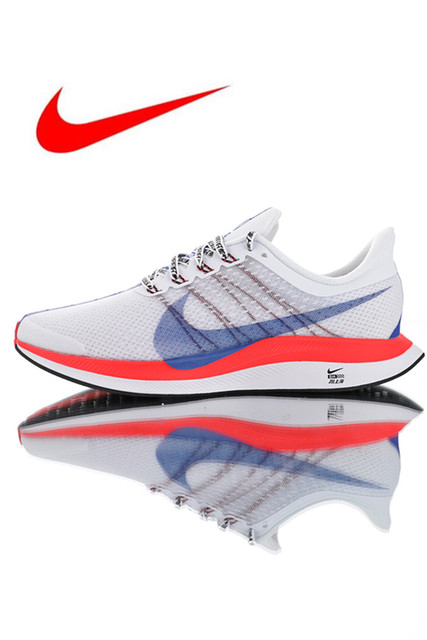 Original Nike Zoom Pegasus Turbo 35 Men's Running Shoes, Wear-resistant Shock Absorbing Breathable Lightweight BQ6895-100