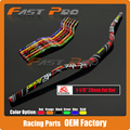 "Motorcycle Motocross 1 1/8"" 28mm Black Handlebars Fat Bar Handle Tubes For KTM CRF YZF WRF RM KXF Pit Dirt Bike Off-road Enduro"