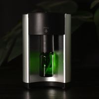 New Pro Nebulizing Pure Essential Oils Fragrances Aromatherapy Wood Glass Diffuser Household Sauna Aroma Humidi