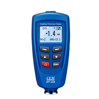 Digital Thickness Coating Meter Automobile Thickness Gauge Car Paint Tester Portable Mini Thickness Gauge Tester DT 156