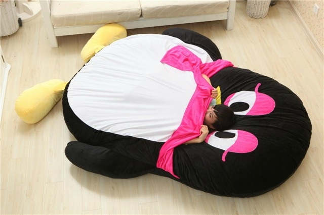 2016 Cartoon Penguin Large Floor Cushion Dome Decor Pillow Big Outdoor Chair  Cushions Pad Decoration Bed Mattress Kids In Stuffed U0026 Plush Animals From  Toys ...