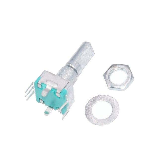 Энкодер, код коммутатора/EC11/аудио цифровой потенциометр, с выключателем, 5Pin, Длина ручки 20 мм, бесплатная доставка