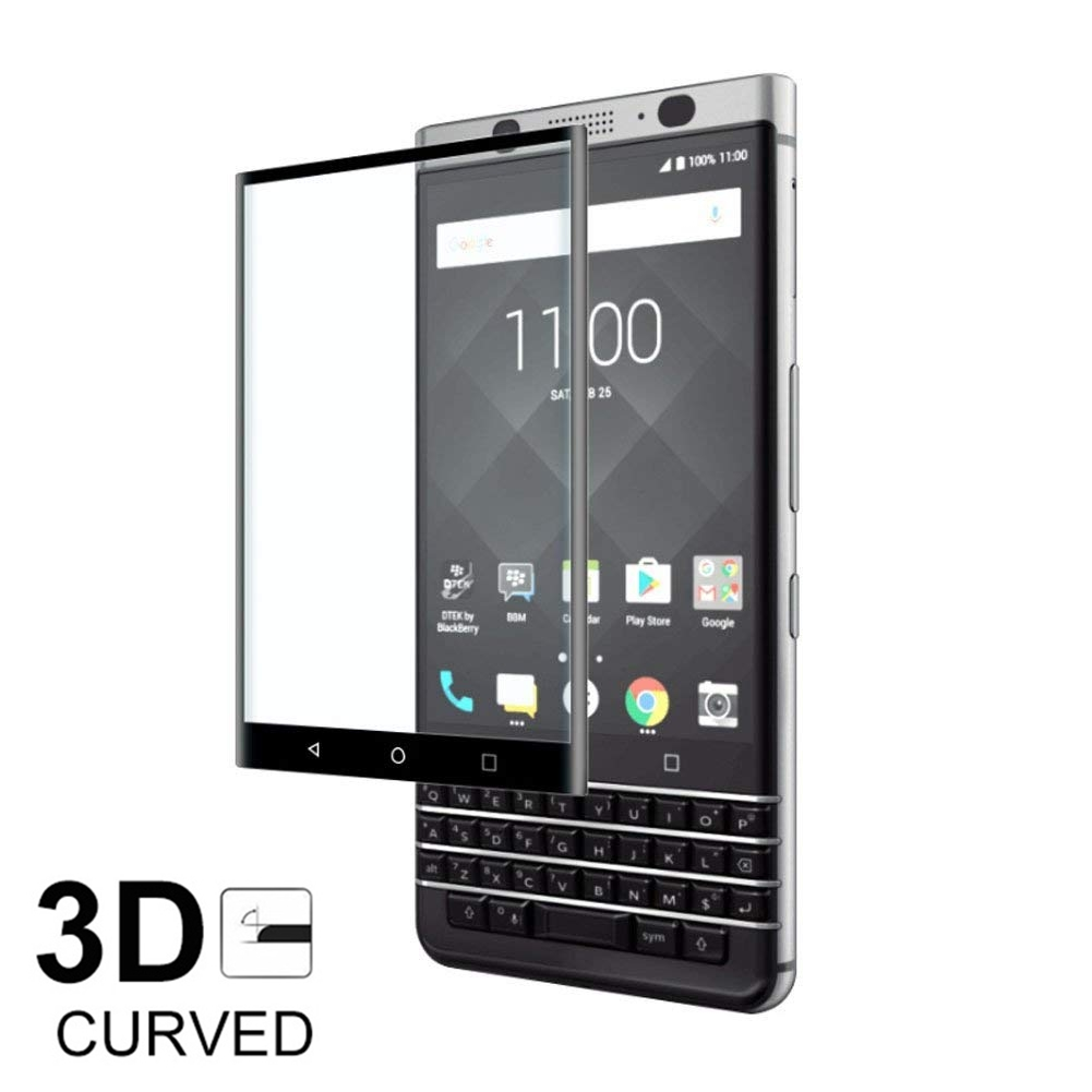 3D Full Cover 9H Tempered Glass For Blackberry Keyone Screen Protection Film For Blackberry Priv Front Glass Protector Case(China)