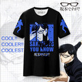 New Sakamoto desu ga? coslay T-shirt Anime Sakamoto Unisex tshirt Polyester Short Sleeve Tops Tees
