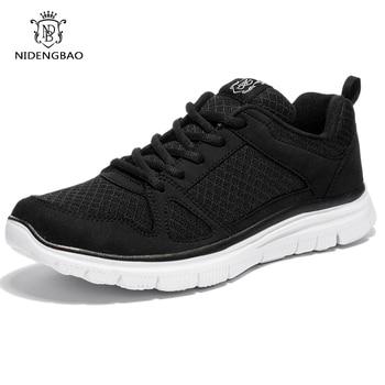 Summer Men Casual Shoes Super Lightweight Breathable Mesh Black Walking Footwear Big Size 40- 49 50 Free Drop Shipping