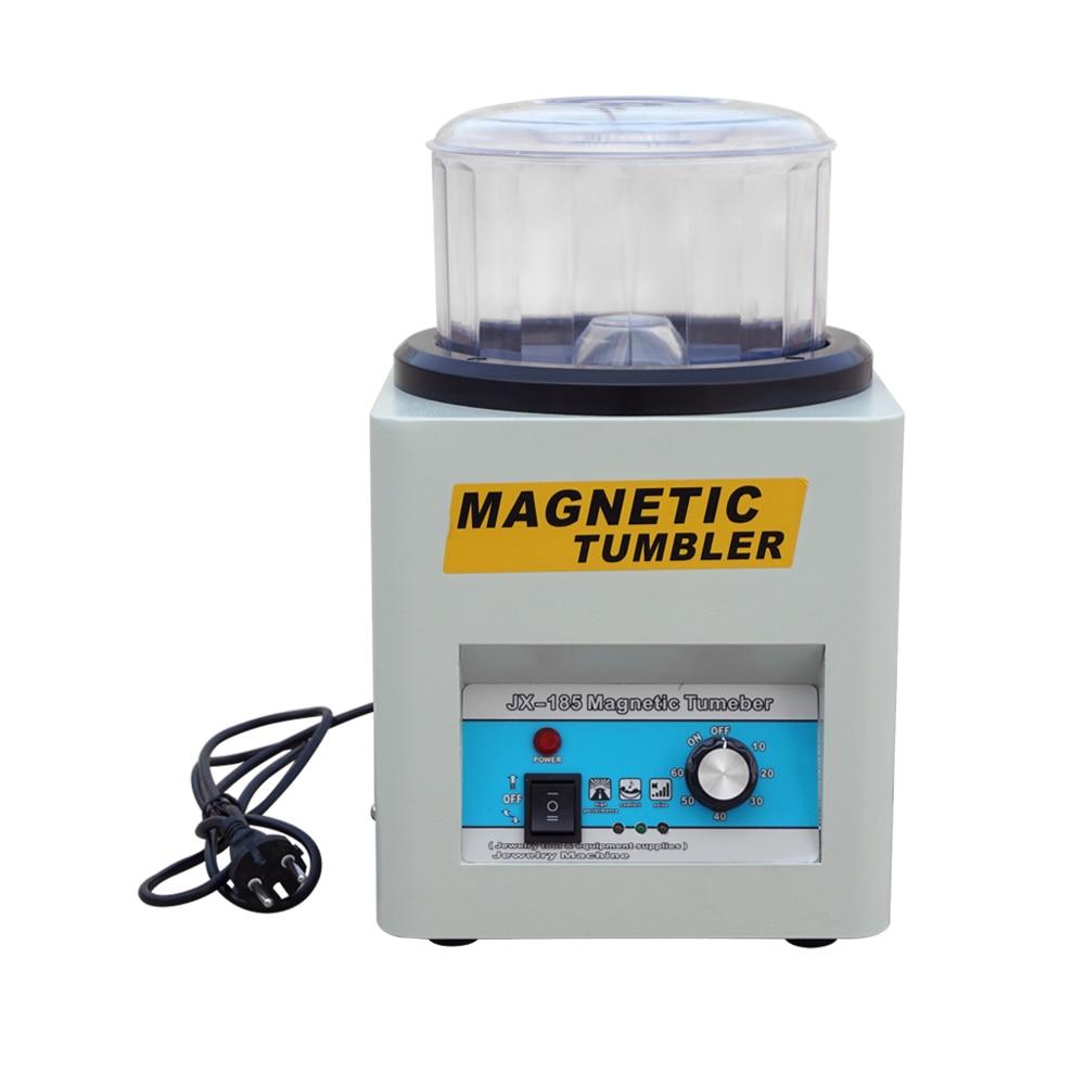 220 В магнитный массажер 180 мм супер отделочные машины Ювелирные изделия полировщик