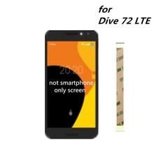 5,0 pulgadas para Orange Dive 72 LTE pantalla lcd + MONTAJE DE digitalizador con pantalla táctil reemplazo para Orange Dive 72 LTE teléfono móvil