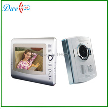 7 inch wired  video door phone intercom system