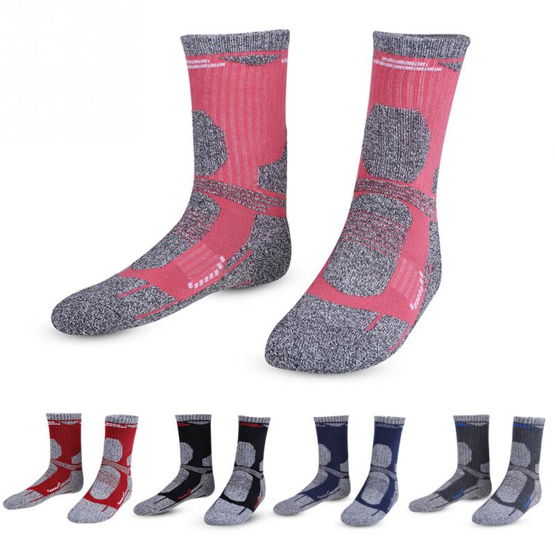 1 Pair Unisex Thicked Keep Warm Fast-drying Long Socks Breathable Skiing Climbing Hiking Running Sporting Sock