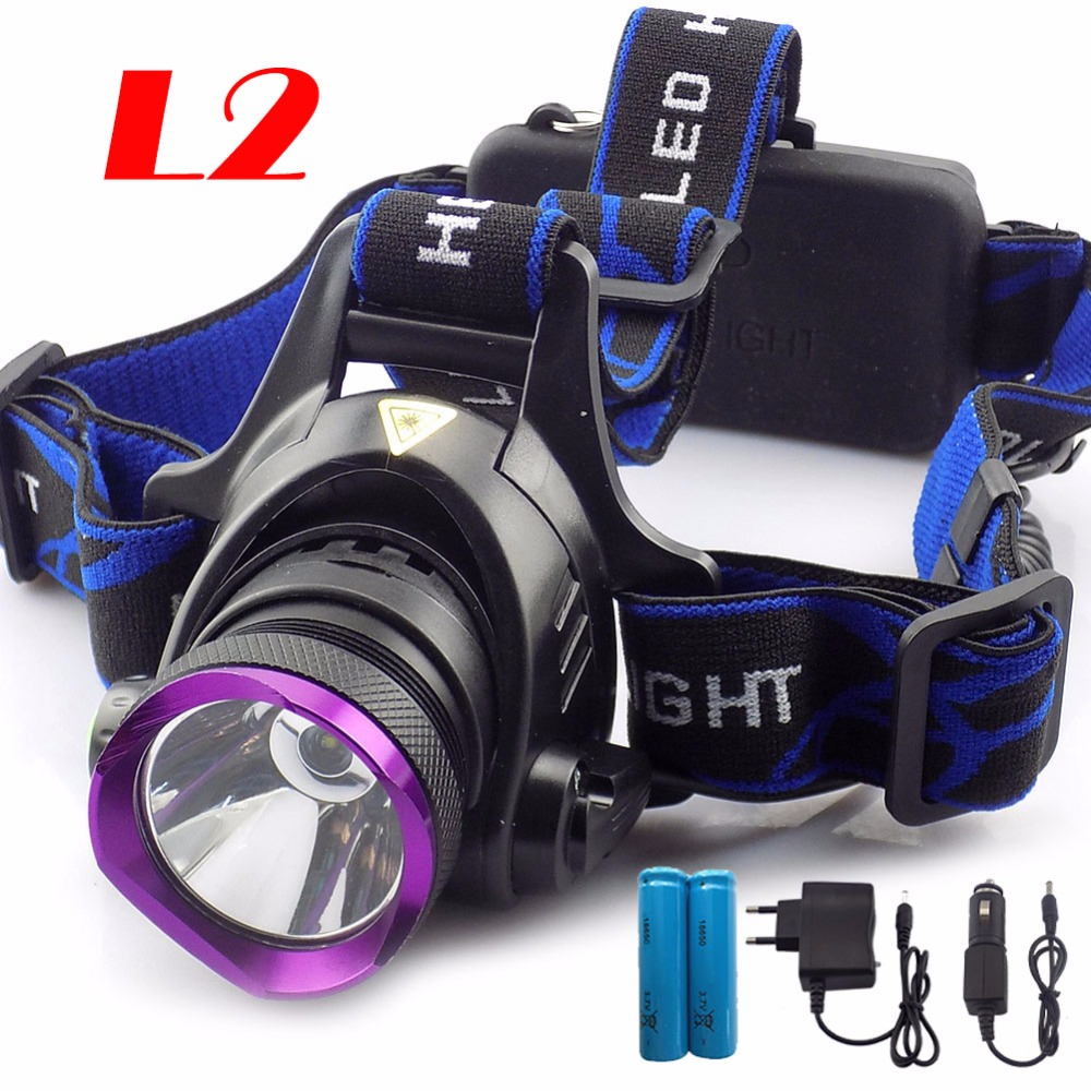 Portable Q5 T6 L2 LED Headlamp 3 Modes Head light Headlight Lamp torch With 18650 Battery AC Charger for Fishing Camping Hiking super bright portable 1000lm xml t6 camouflage headlight headlamp 3 modes for camping hiking