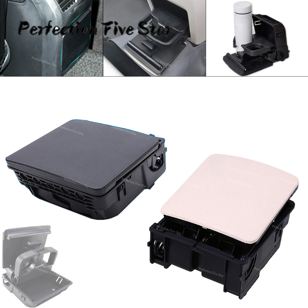 1K0862532 1KD862532 Central Console Armrest Rear Cup Drink Holder For VW Jetta MK5 5 Golf MK6 6 MKVI EOS-in Auto Fastener & Clip from Automobiles & Motorcycles
