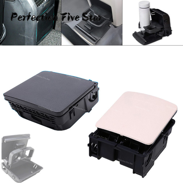 1K0862532 1KD862532 Central Console Armrest Rear Cup Drink Holder For VW Jetta MK5 5 Golf MK6 6 MKVI EOS