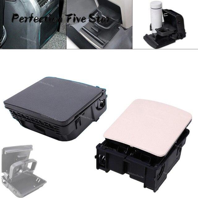 1K0862532 1KD862532 وحدة التحكم المركزية مسند الذراع الخلفي كأس حامل مشروبات لشركة فولكس فاجن جيتا MK5 5 جولف MK6 6 MKVI EOS