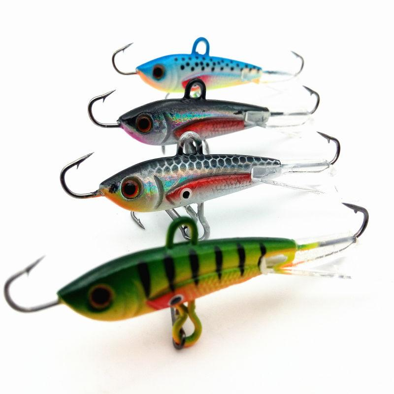 Buy 4pcs 60mm 10g new fishing lure winter for Ice fishing supplies wholesale