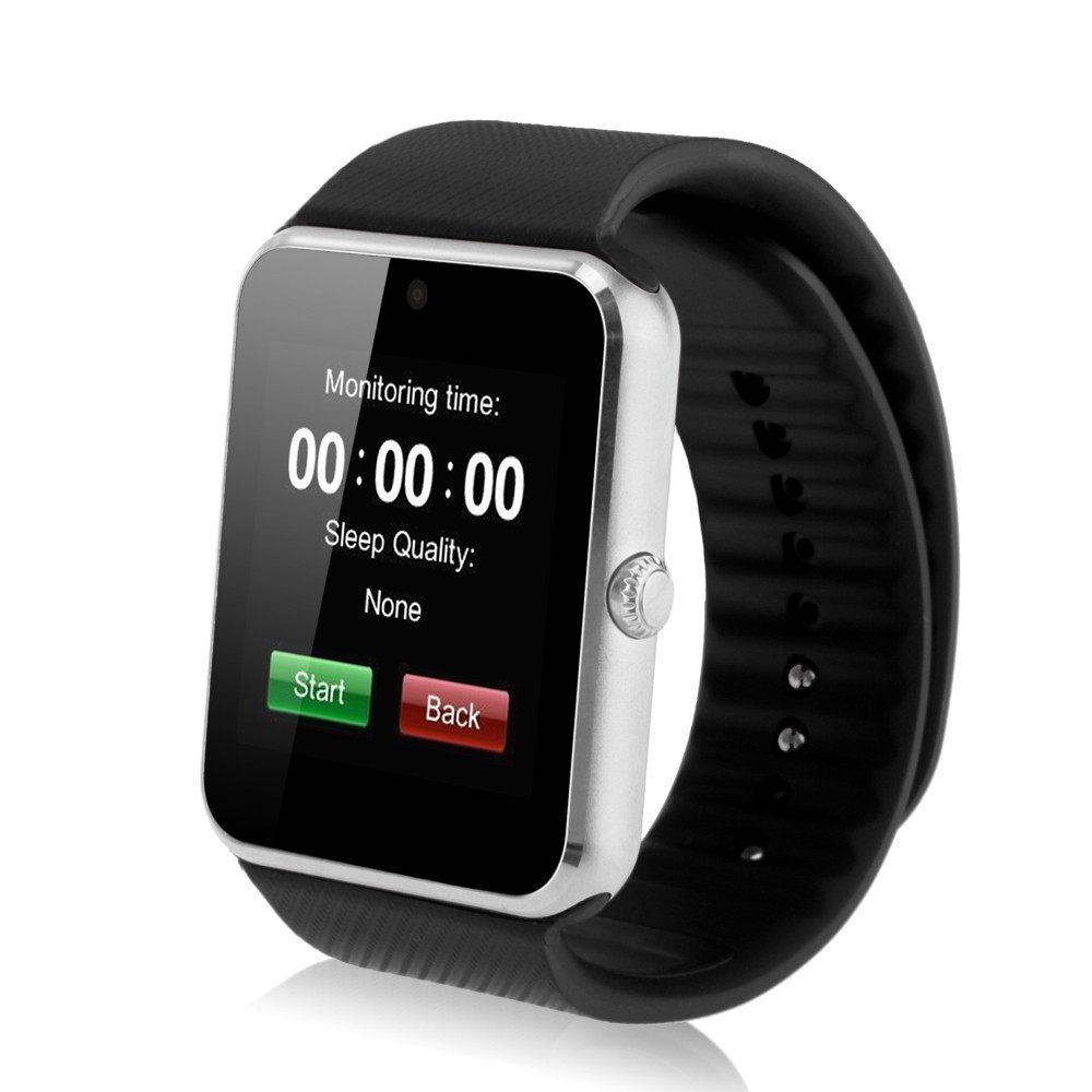 2015 New Bluetooth Smart watch GT08 for Android IOS iphone WristWear Support Sync smart clock font