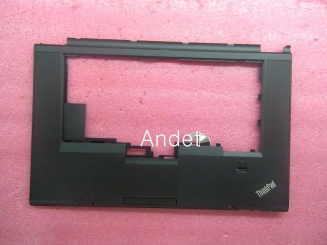 Новый OEM Lenovo ThinkPad T530 T530i W530 Клавиатура Рамкой Упора Для Рук Верхний Регистр С Сенсорной Панели + Отпечатков Пальцев 04W6733 04W6820 04X4611