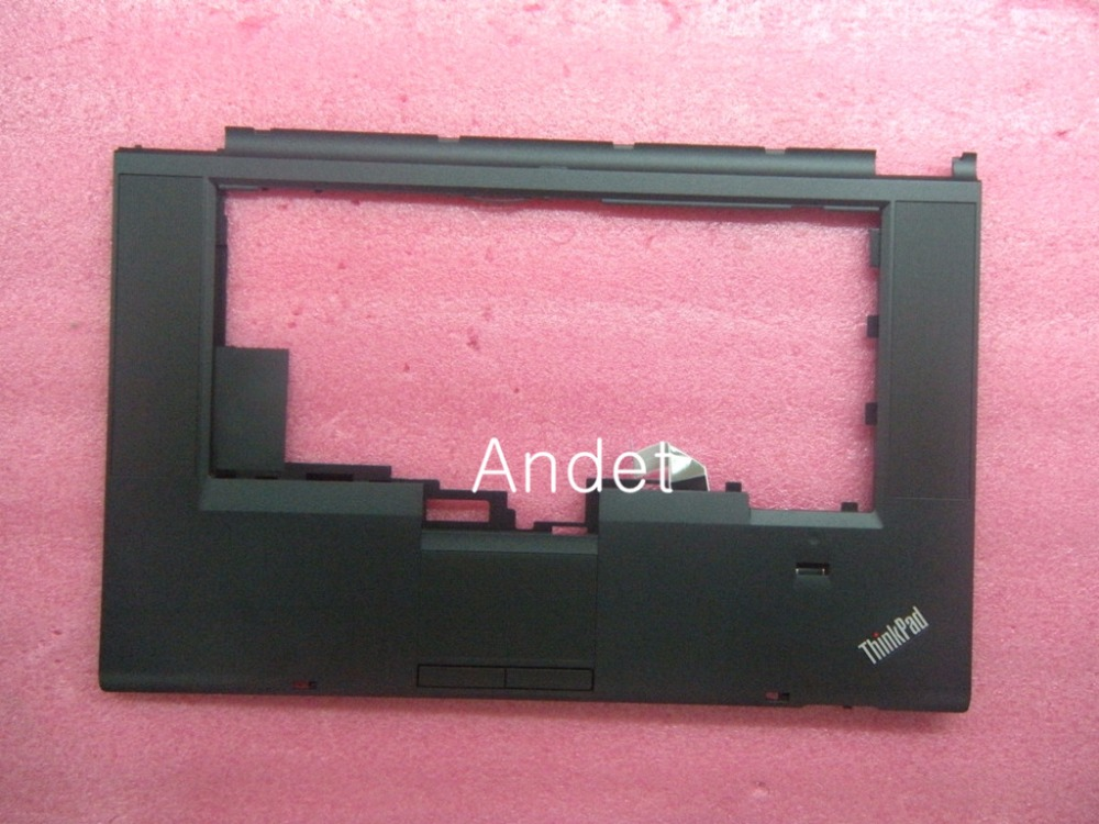 ФОТО New OEM Lenovo ThinkPad T530 T530i W530 Keyboard Bezel Palmrest Upper Case With Touchpad + Fingerprint 04W6733 04W6820 04X4611