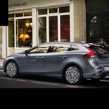 Lsrtw2017 304 нержавеющая сталь окна автомобиля планки для volvo v40 2013 2013 2014 2015 2016 2017 2018 2011