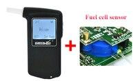 2017 взрывные Новый Полиция цифровой ЖК дисплей топливных элементов датчика тестер на алкоголь Алкотестер анализатор детектор Бесплатная до