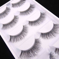 5 Pairs Natural Long Sparse Cross False Eyelashes Fake Eye Lashes Extensions Makeup Tools