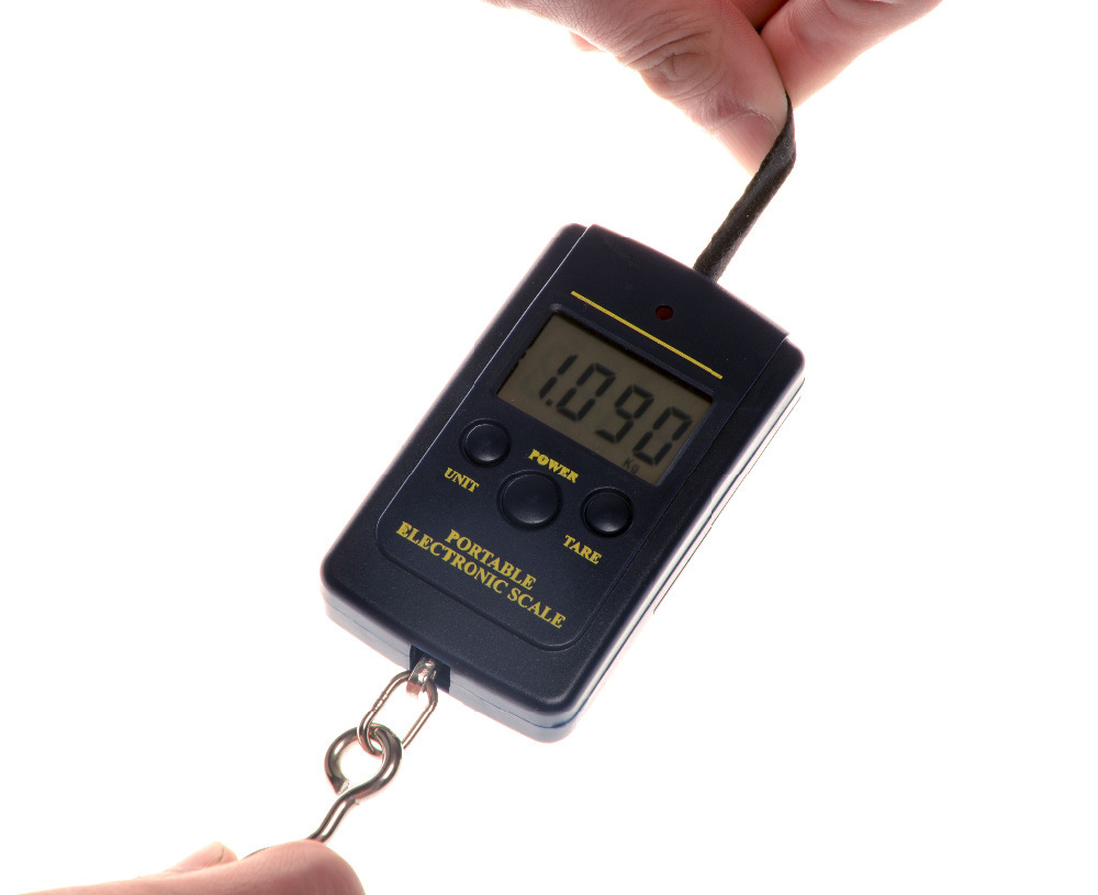 Digital Handy Scales 40kg*10g Mini Handing Electronic Digital Balance Portable Weight Scale LCD Display 500g 0 5g lab balance pallet balance plate rack scales mechanical scales students scales for pharmaceuticals with weights
