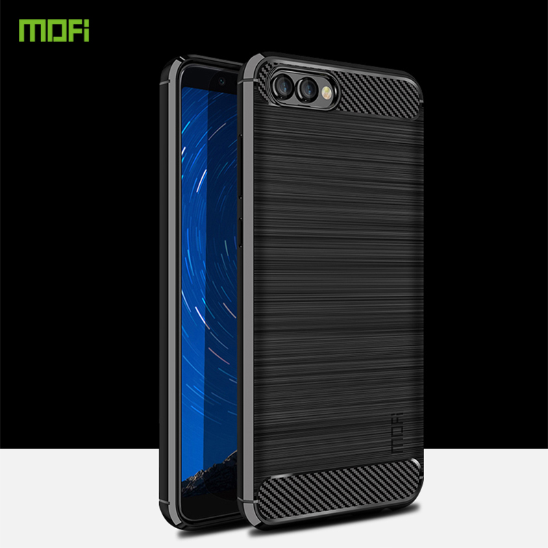 For Huawei Honor v10 Case Cover MOFI Fitted TPU Cases For Huawei Honor v10 High Quality Soft TPU Back Phone Cover 5.99'' image