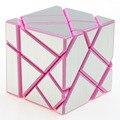 FangCun Fantasma de Plástico Cubo Mágico Rompecabezas Rosa Envío gratis Childern Educativos Rompecabezas Twisty Juguete Nuevo de La Llegada