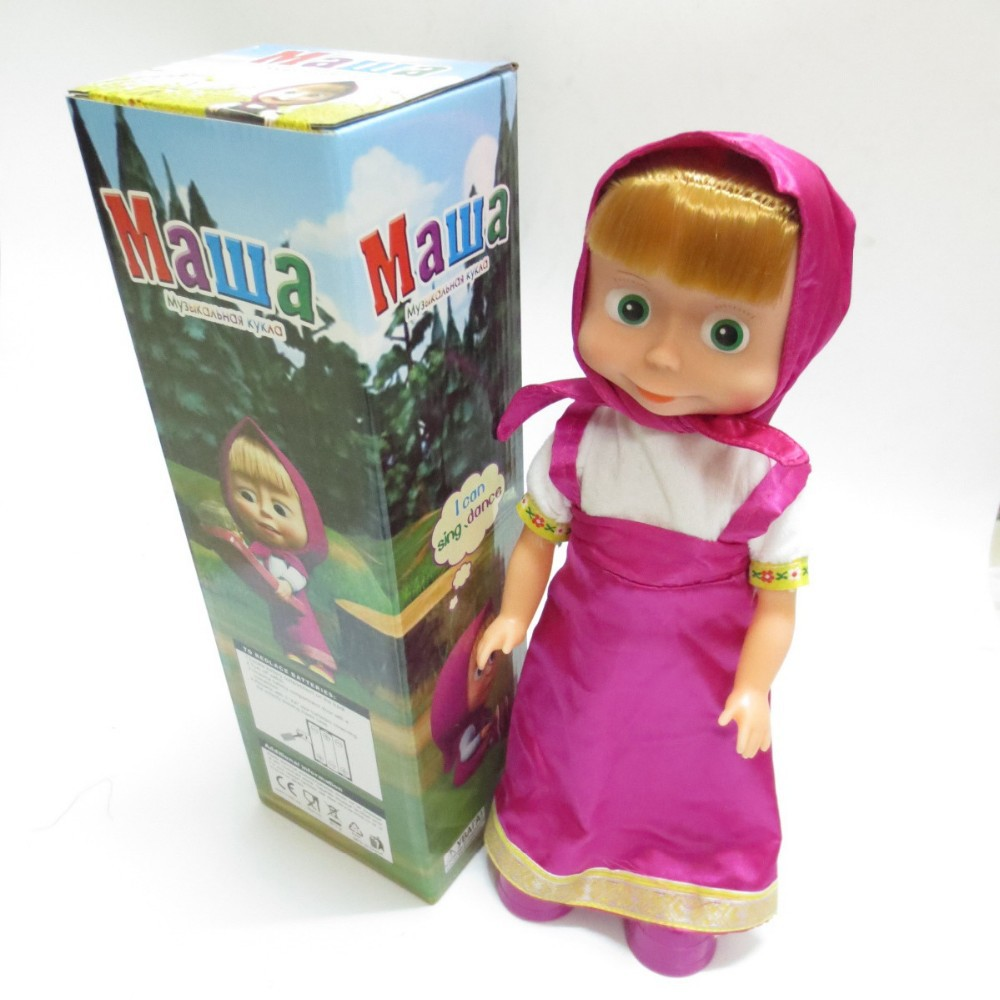 top russian dolls for girls masha and bear doll toy dancing