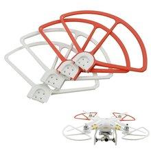 4 шт./лот DJI Phantom 3 Prop протектор Пропеллер Защита бампера протектор для Phantom 3 Quadcopter(2 красный+ 2 белый
