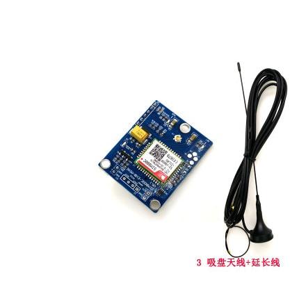 Free Ship SMS/MMS GSM|GPRS SIM800C Development Board Wireless Communication Module Sucker Antenna Minimum Version SIM800C Module