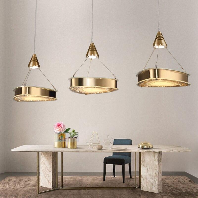 3 stks eenvoudige led hanglampen voor slaapkamer keuken hanglamp
