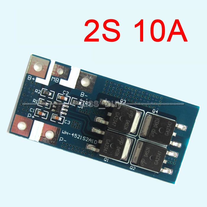 Tracking number 2S 10A Li-ion 7.2V 7.4V 8.4V 18650 lithium battery protection board BMD pcm 5pcs 1s 3 2v 18650 li ion lithium iron phosphate battery protection board 2a with overcharge overdischarge protection