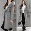 Casaco манто femme feminino пальто зимнее пальто женщин долго шерстяное пальто abrigos mujer зимняя куртка женщины manteaux hiver femme 2016