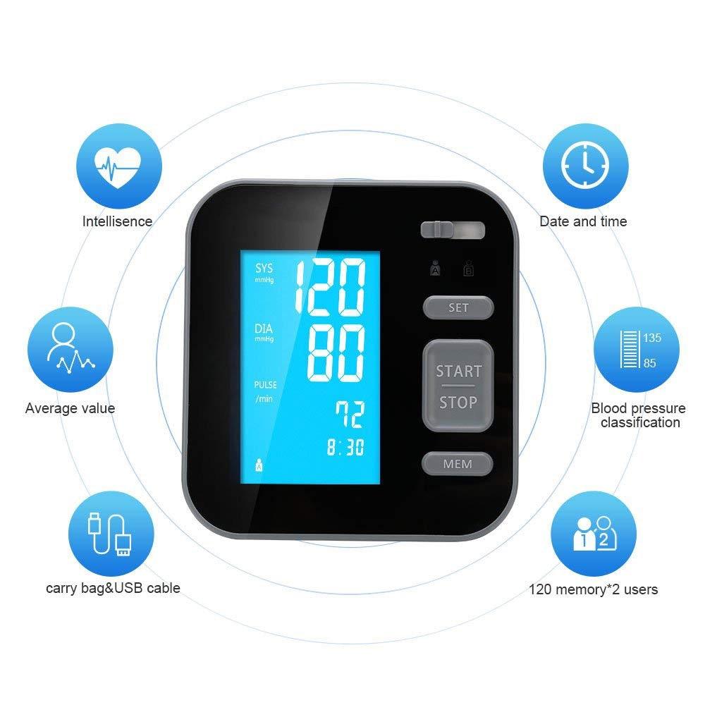 Features - Majota Cigbg Home Digital Upper Arm Blood Pressure Monitor