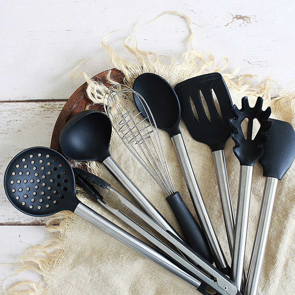 Kitchen Utensil Set Stainless Steel