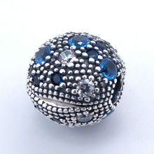 Cosmic Stars Clip Charms 925 Sterling Silver Multi-Colored Crystal Stopper Beads for Jewelry Making Fits Original Charm Bracelet