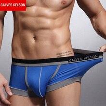 Calves Kelson 5 Packs/Lot Men Boxers Quality Fashion Man Modal Pants Free Shipping HPCY 001
