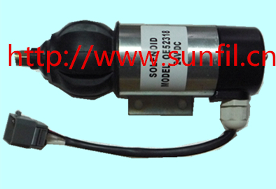 Wholesale Fuel Shutdown Solenoid 873754, 872825,881969 for ,24V free shipping by dhl,ups ,tnt ,fedex... недорого