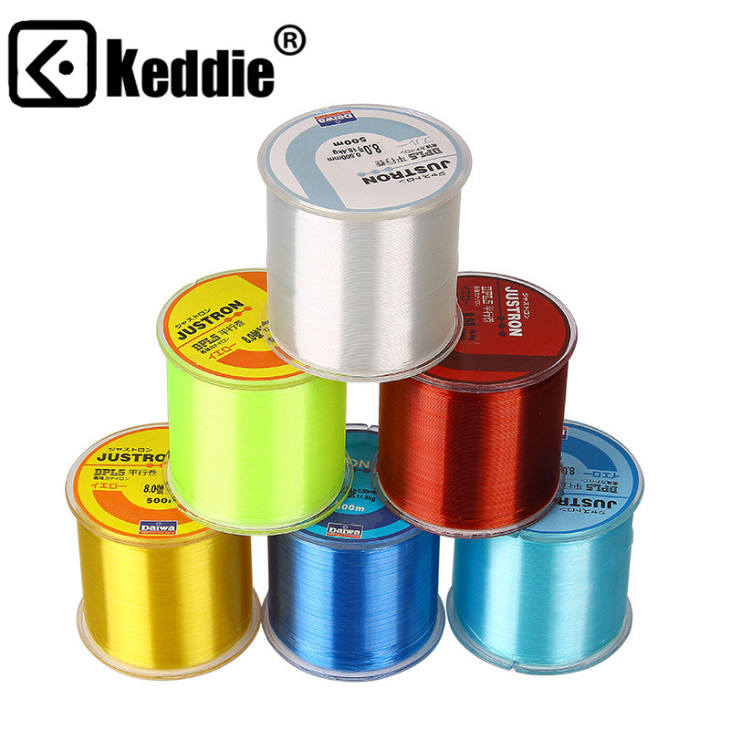 Thread-Line Braided-Wire Multifilament Fishing-Cord Nylon 500M