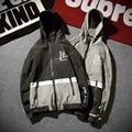 jacket men printed letter hip hop Stylish High Quality Causal Hooded Thin Windbreaker Zipper Coats pilot tactical jacket Z10
