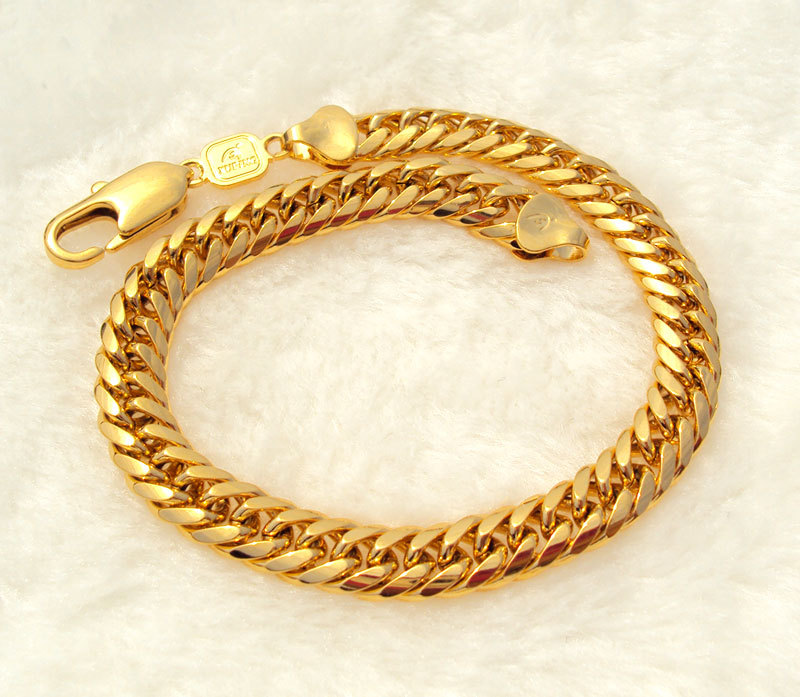 bracelet bangle gold solid thick img jewelry hammered