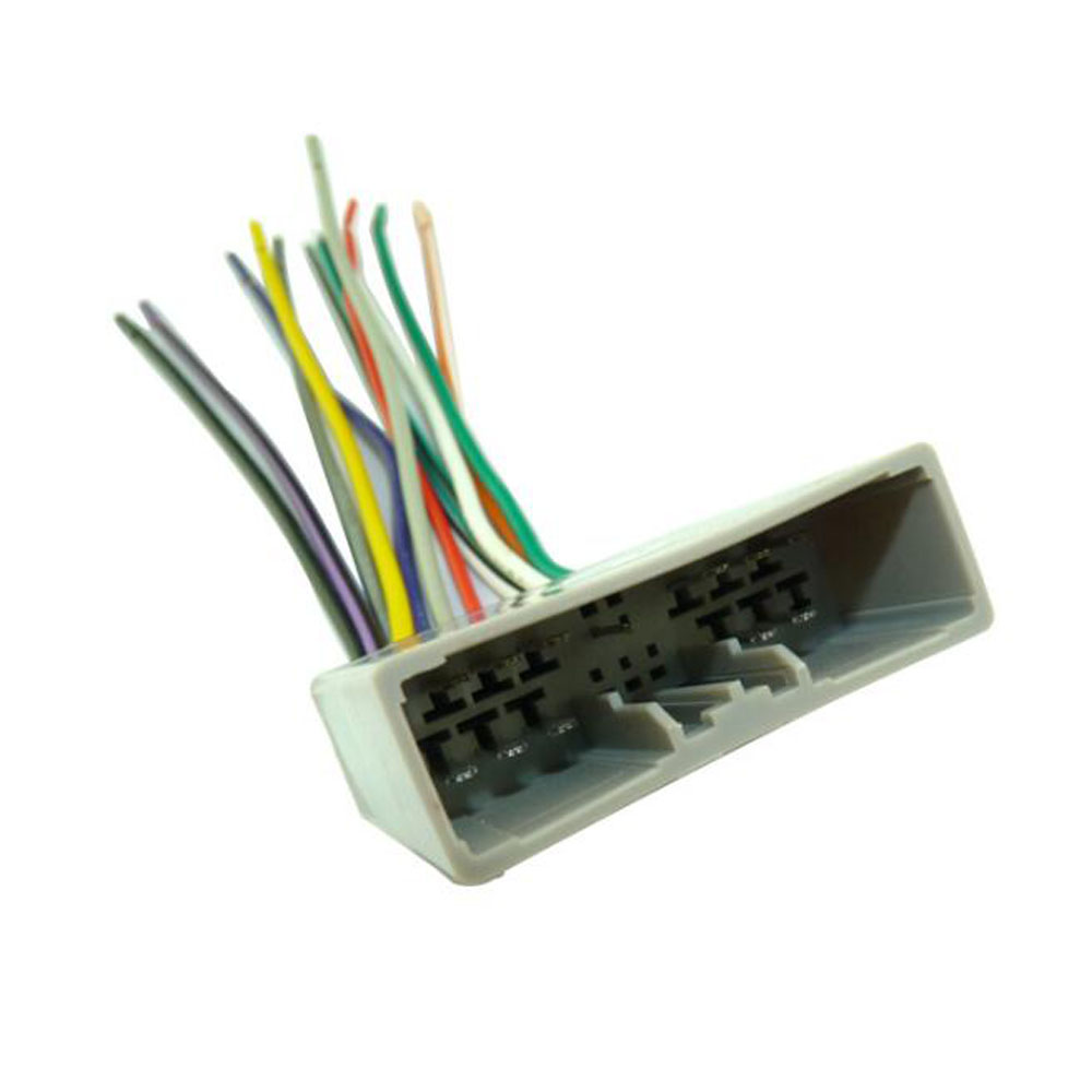 Car Audio Stereo Wiring Harness Adapter Plug Female For