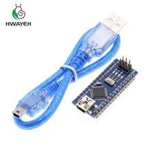 MINI USB Nano V3.0 ATmega328P CH340G 5 в 16 м плата микроконтроллера для arduino NANO 328P NANO 3,0