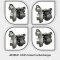 Xinyuchen Турбокомпрессор для частей дизельного двигателя 4039631/4955138 HX35W цена турбонагнетателя