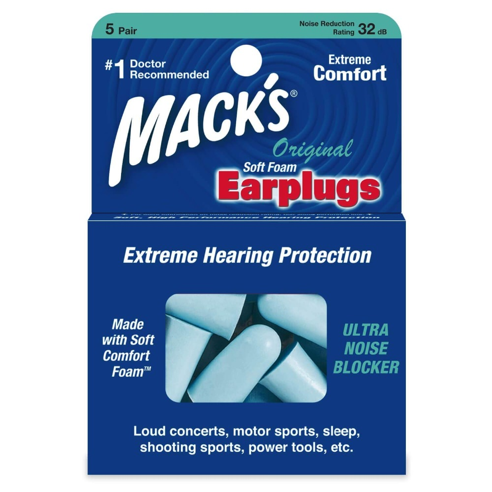 Hot Sale Free shipping 5 pairs Macks soundproof earplugs professional noise reduction ear plugs anti-anti-noise anti snore